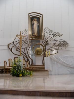 Ježišu dôverujem v teba - hlavný oltár..